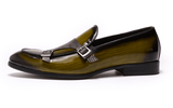 Green Dress Shoes |  Monk Strap