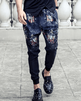 Pants|Trousers|Ankle Length|Decorative