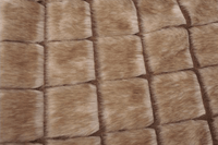 Rabbit Fur Jacket Large Hair | Beige