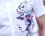 White Shirt | Woman Face Printed