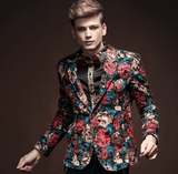Floral Blazer|Fashion Jacket