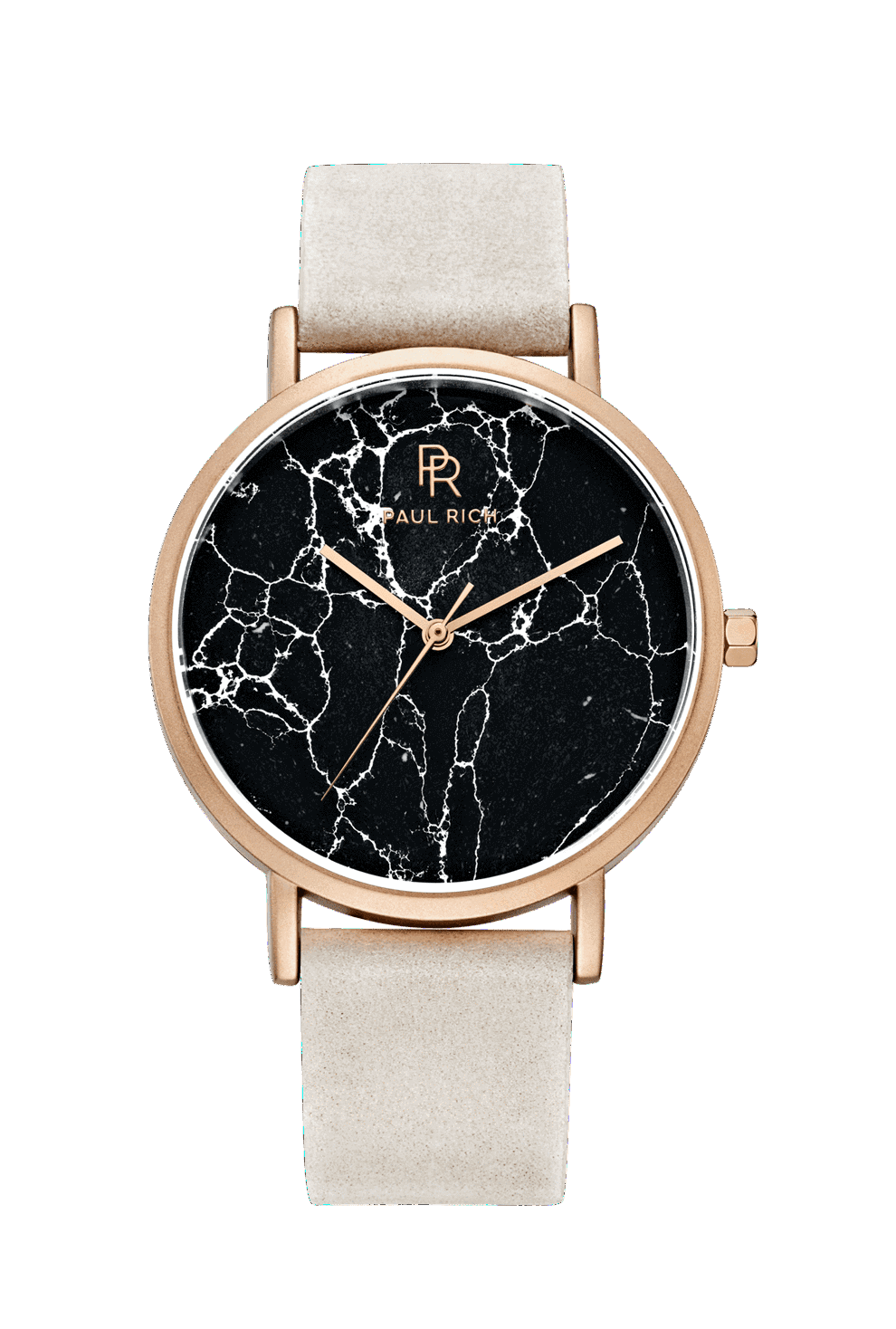 Rome Black Rose Gold