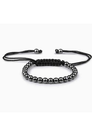 Gunmetal Grey Stainless Steel Bracelet
