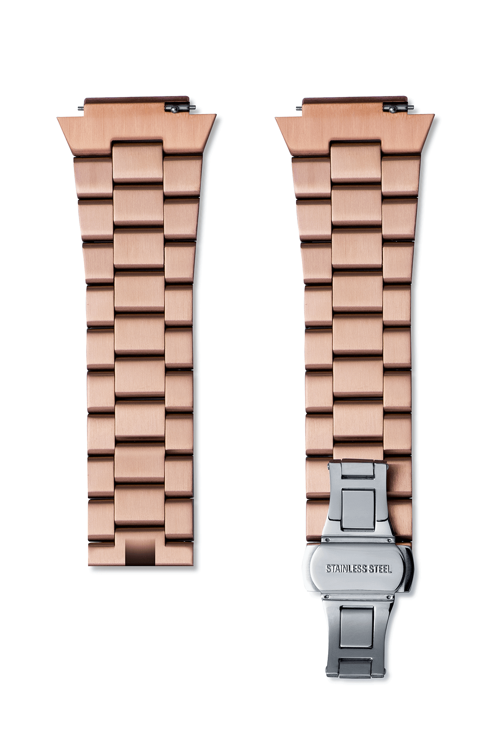 Signature/Star Dust Steel Watchband - Rose Gold