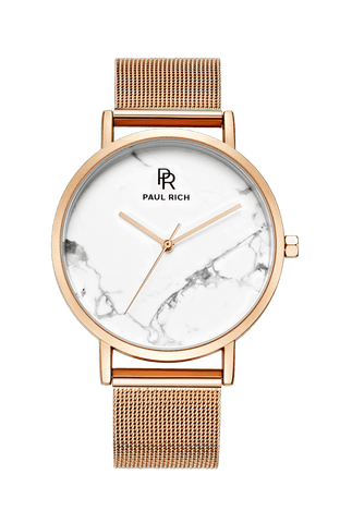 Rome White Rose Gold - Mesh