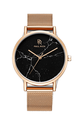 Rome Black Rose Gold - Mesh