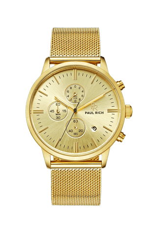 Gold royce watch