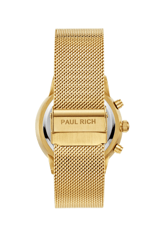 Paul rich royce watch gold