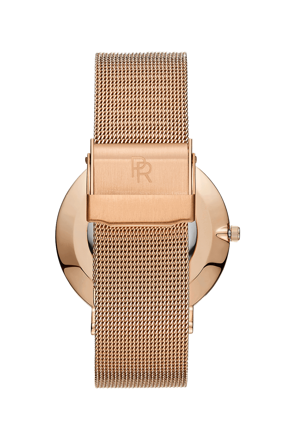 Beverly - Rose Gold Mesh
