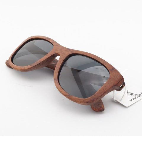 Wooden Shades For Men & Women | Unisex Bamboo Wood Sunglasses | Polarized Lens