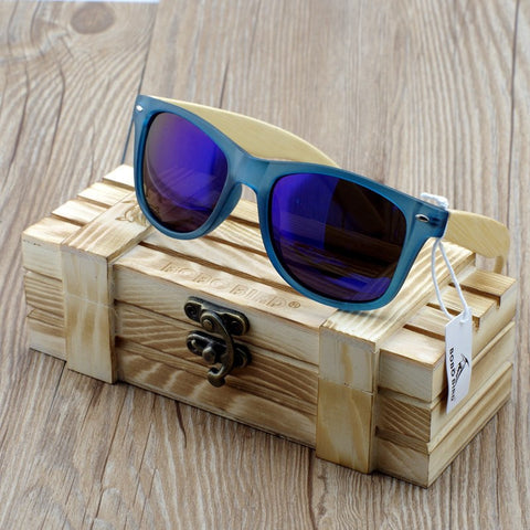 Unisex Polarized Wooden Sunglasses | Bamboo Shades For Men & Women