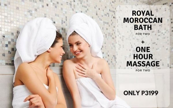 Moroccan Bath for two with Free massage
