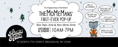 The MoMeMans® at Artists & Fleas #AFinBK #artistsandfleas