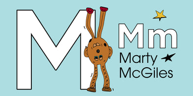 The MoMeMans™ ZYX Project. Letter M: Marty McGiles by Monica Escobar Allen.