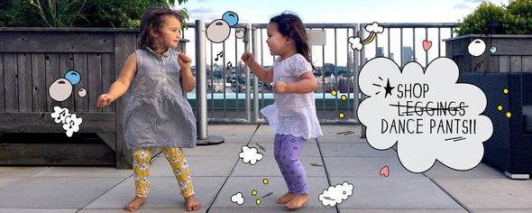 Cute Kids Leggings, Dance Pants!! Like yoga pants for kids! The MoMeMans® by Monica Escobar Allen