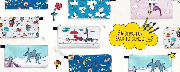 Cute Pencil Cases for Back to School-ish from The MoMeMans®