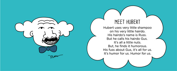 Meet Hubert from The MoMeMans® by Monica Escobar Allen