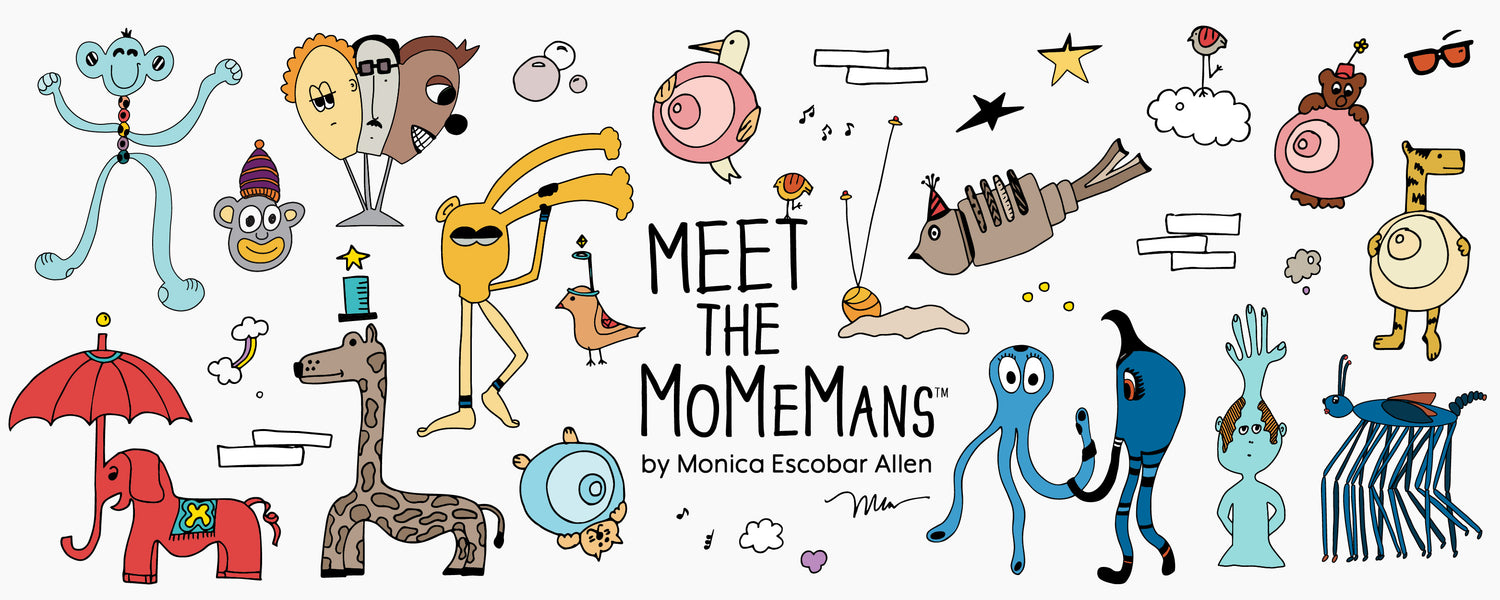 Meet the MoMeMans by Monica Escobar Allen