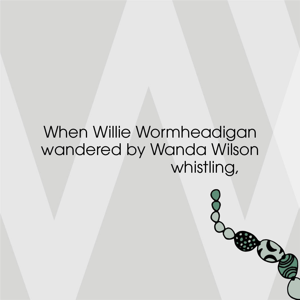 The MoMeMans ZYX Project. The Letter W: Willie + Wanda by Monica Escobar Allen.