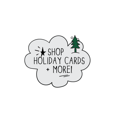 Holiday Cards from The MoMeMans™ by Monica Escobar Allen.