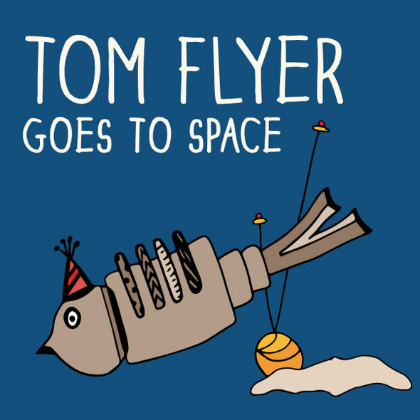 Tom Flyer Goes to Space. The MoMeMans® by Monica Escobar Allen.