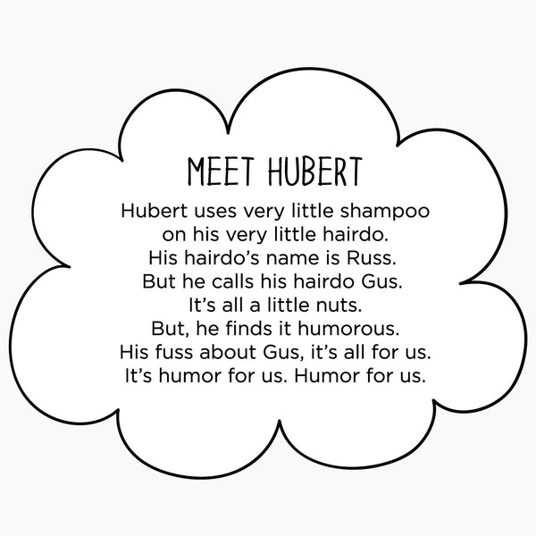 Meet Hubert. The MoMeMans® by Monica Escobar Allen.