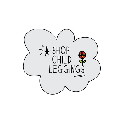 MoMeMa kids and child leggings from a place called MoMeMa by Monica Escobar Allen in Brooklyn, NY