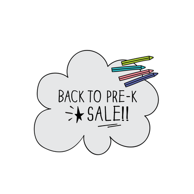 The MoMeMans Back to Pre-K Sale