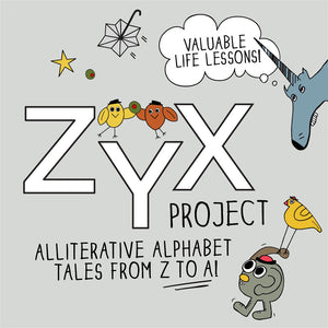 ZYX Project: Alliterative Alphabet Tales from Z to A with Valuable Life Lessons! The MoMeMans by Monica Escobar Allen