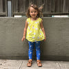 Rainclouds Love Lollipops Kids Leggings from The MoMeMans™ by Monica Escobar Allen