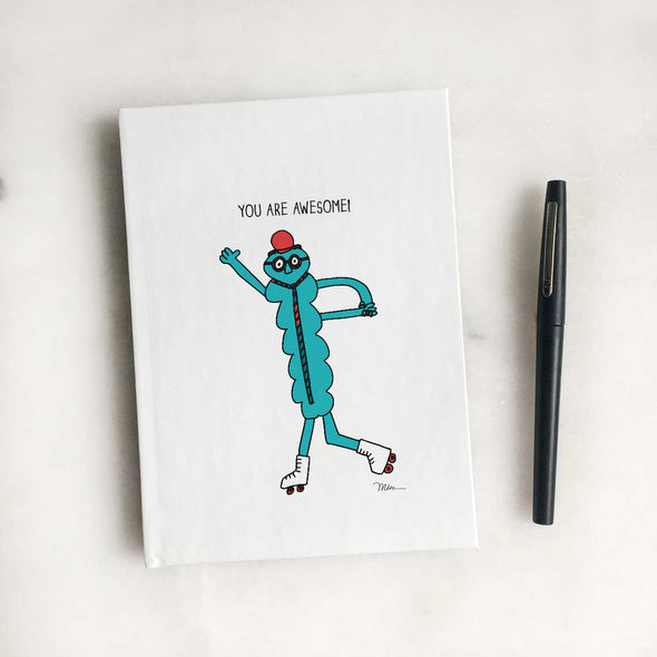 The MoMeMans™ You are Awesome! Journal and Sketchbook by Monica Escobar Allen