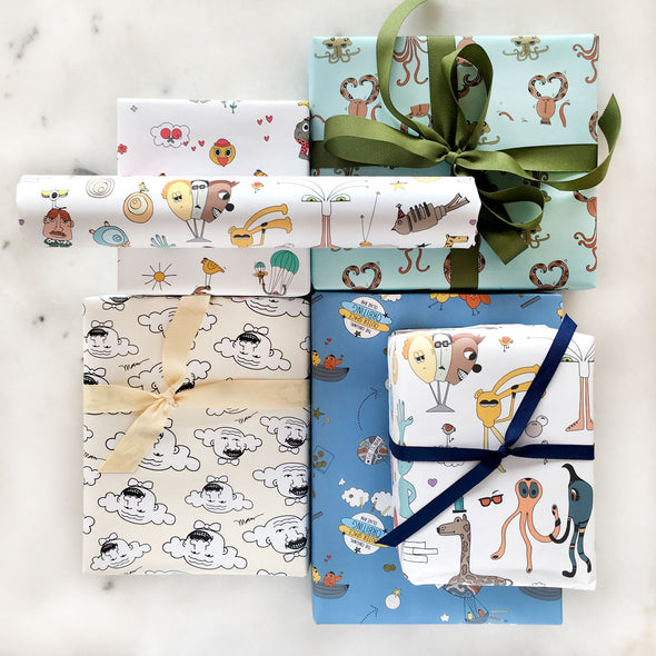 The MoMeMans™ Gift Wrap Variety Pack by Monica Escobar Allen