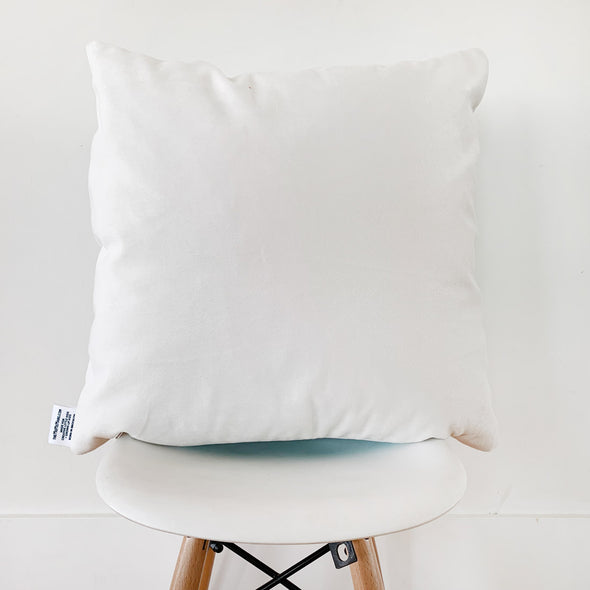 The MoMeMans® Quinn + Quinlan Velveteen Pillow by Monica Escobar Allen. Keeps you focusing on the fun. Not the hard surfaces.