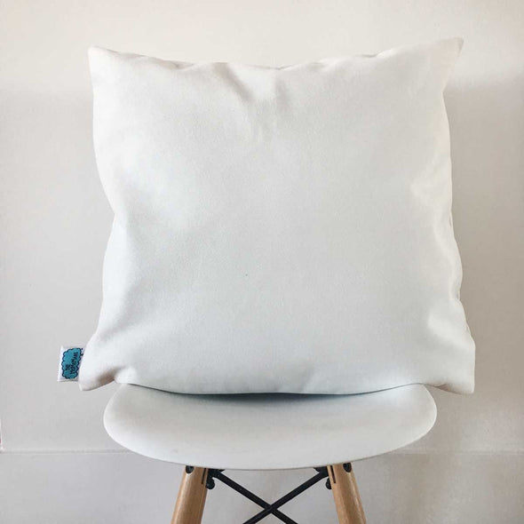 The MoMeMans® The Sidewalkers Velveteen Pillow Case by Monica Escobar Allen