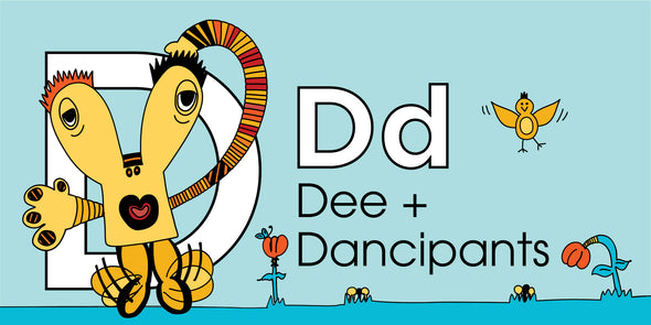 Dd. Dee + Dancipants Story Cover.