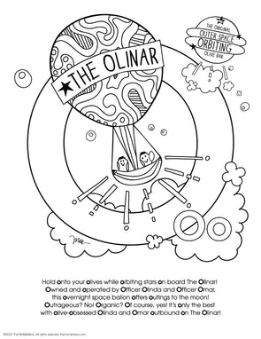 FREE Alphabet Printable Letter O from The MoMeMans® ZYX Project: Alliterative Alphabet Tales with Valuable Life Lessons by Monica Escobar Allen.