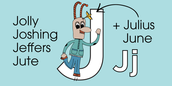 The MoMeMans™ ZYX Project. Letter J: Jolly Joshing Jeffers Jute + Julius June by Monica Escobar Allen. Some skills get better with practice.