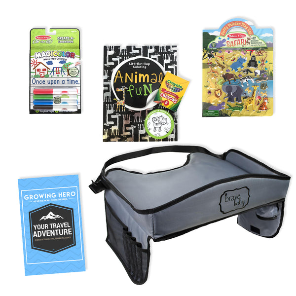 Kids Travel Tray and Kids Travel Activities