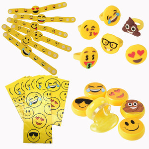Emoji Party Goody Bags - Set for 12