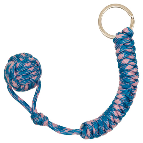 It's A Suprise  Monkey Fist Paracord Keychain