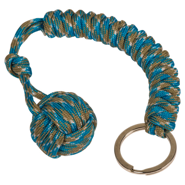 Seabrook Monkey Fist Paracord Keychain