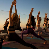 >> SKYSPACE :: SUNRISE YOGA :: LOS ANGELES, CA <<