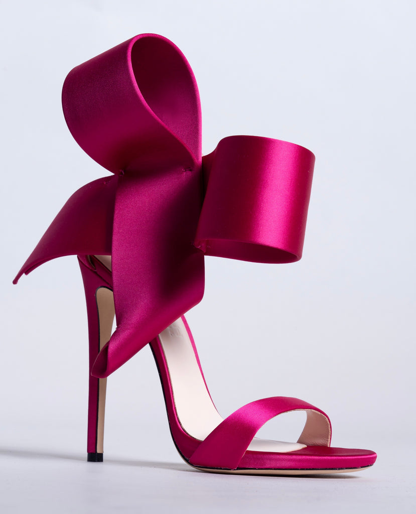 Fuchsia Open Toe