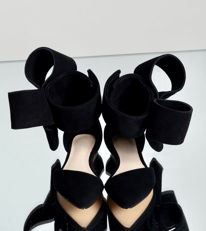 KIDS BOW FLAT BLACK