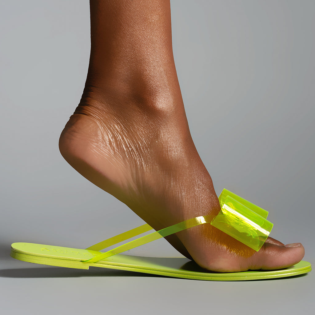 JELLY GREEN FLIP FLOP