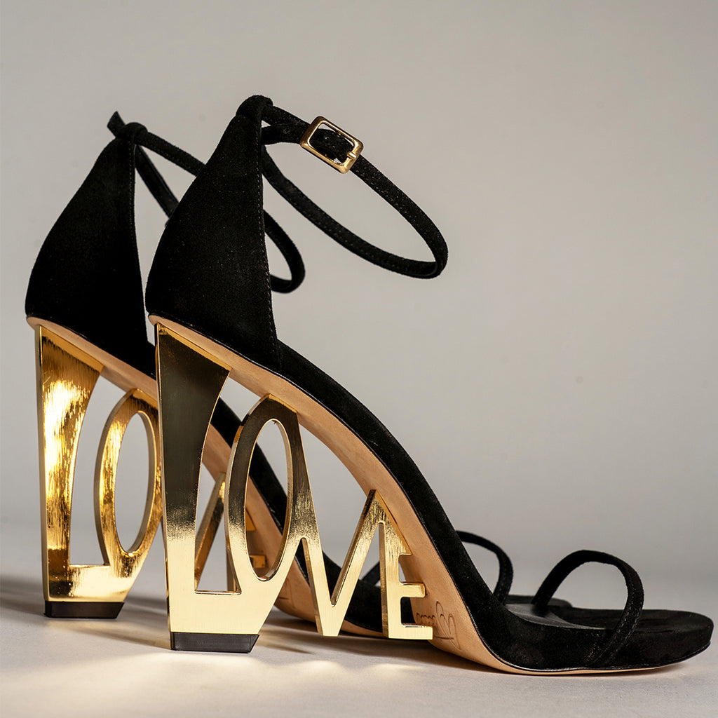 LOVE WEDGE SANDAL