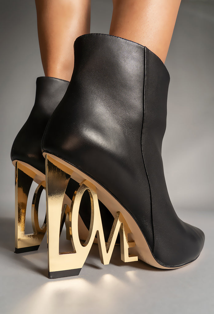 LOVE WEDGE BOOTIE