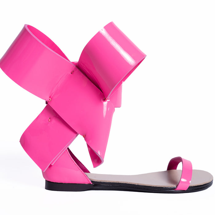 KIDS BOW SANDAL BARBIE