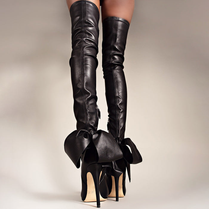 THIGH HIGH STRETCH BOOT