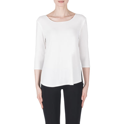 Joseph Ribkoff Top Style 183171 Vanilla Best Price On Sale